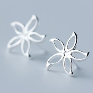 Sampaguita Jasmine earrings